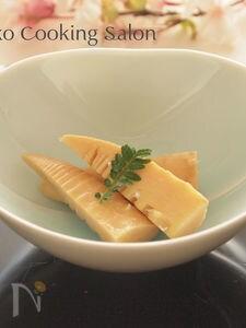 【おせちにも】関西風たけのこの含め煮