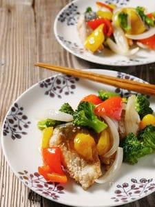 鯖の野菜あんかけ
