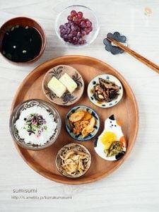豆皿でワンプレート