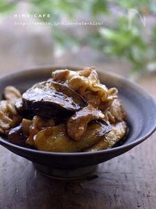 茄子と豚肉のトロ照り焼き☆