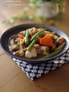 鶏もも肉と野菜の甘煮☆