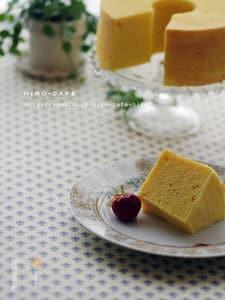 米粉で作るシフォンケーキ☆