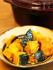 ストウブ鍋☆ほくほくのかぼちゃの煮物