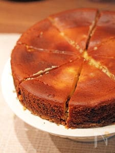 クランベリーチーズケーキ