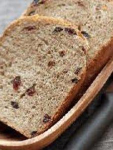 天然酵母で小麦胚芽豆乳レーズンブレッド