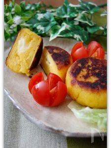 さつま芋チーズもち