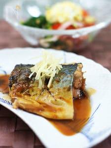 骨まで柔らか鯖の味噌煮