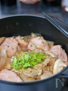 豚肉とキャベツの煮込み クミン風味
