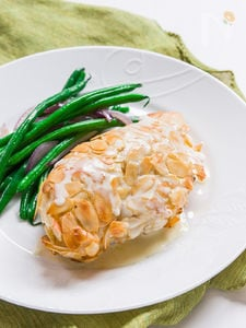 Chicken Almondine