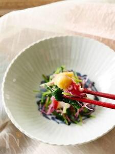 ピリリと旨い!蛸と三つ葉のからし酢味噌