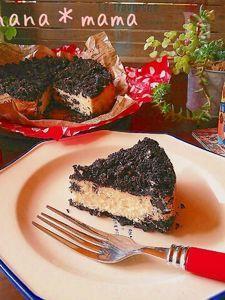ミキサーで♪クッキー&クリームチーズケーキ♪