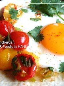 半熟卵とサルサのメキシカンなウェボスランチェロス