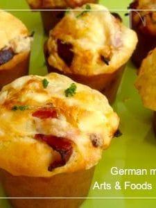 ジャーマンマフィン 朝食に最適おかずマフィンレシピ