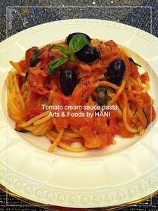 基本のトマトクリームパスタレシピ
