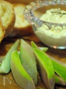 風車草〜クリームチーズのディップ