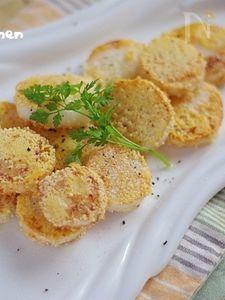 長芋のカリカリチーズ焼き