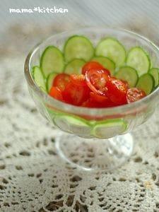 和えるだけ!プチトマトの和風マリネ