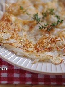 長芋とチーズのガレット