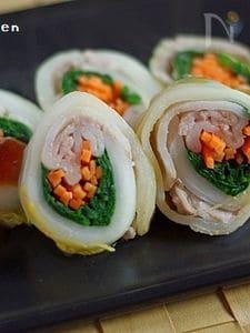 彩り野菜と豚肉のさっと煮