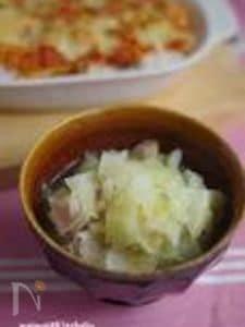 キャベツやわらか♪食べるスープ