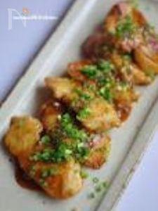 鶏むね肉の甘酢焼き【自家製麺つゆレシピ】