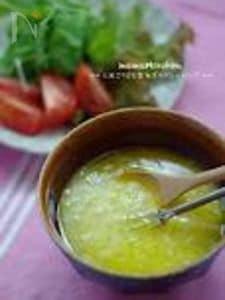 塩麹と玉ねぎのドレッシング