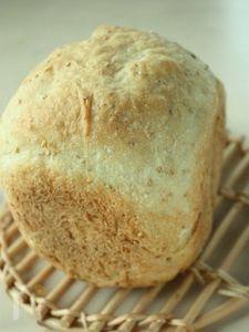 白ごまはちみつもっちり食パン(HB使用)