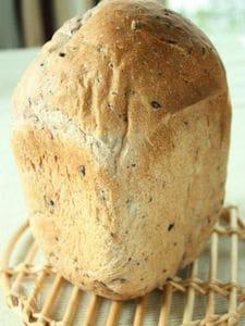 ふんわりもっちり☆黒米食パン【HB使用】
