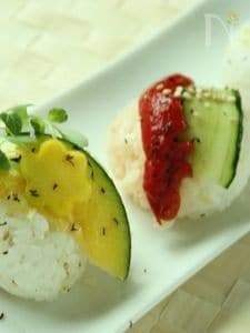お野菜de手まり寿司〜グレープフルーツご飯のレシピ