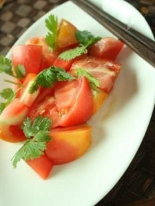 トマトのナンプラーマリネ