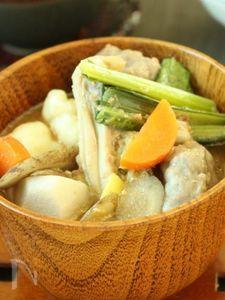 冷蔵庫一掃!お野菜たっぷりすいとん・お味噌仕立て