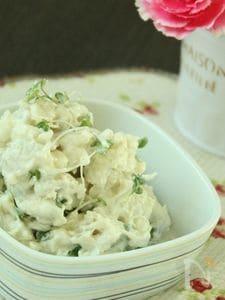 里芋のクリームチーズ味噌サラダ