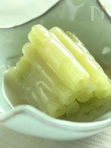 ふきの酢味噌かけ