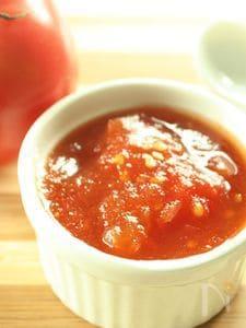 リコピンたっぷり♪夏のトマトジャム