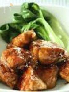 ひとくち鶏むね肉の照り焼き