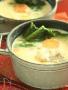 ストウブ鍋で作るふるふる茶碗蒸し
