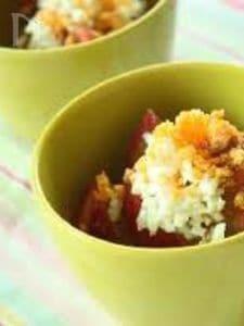 トマトのミモザサラダ・みそヨーグルトドレッシング