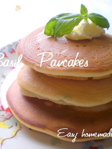 ≪フレッシュバジル パンケーキ≫