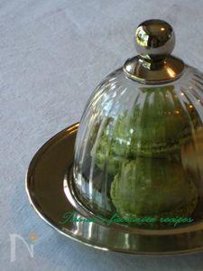 イタリアンメレンゲで作る抹茶のマカロン