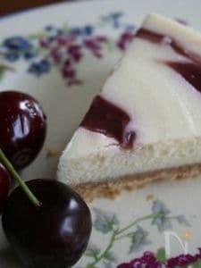 チェリーのチーズケーキ