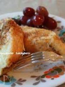 メープルシュガーのフレンチトースト