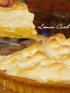 レモンカードタルト