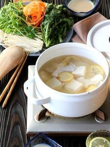 豆腐と鶏肉の塩鍋(動画あり)