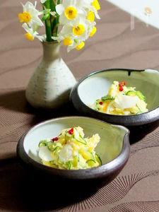 安納芋のポテサラ