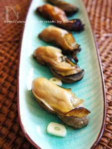 塩麹ハチミツde牡蛎のスモーク