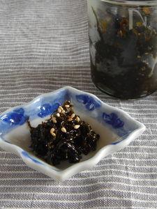 韓国風海苔の佃煮。