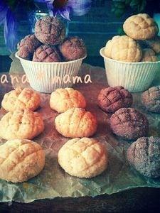 メロンパンクッキー♪