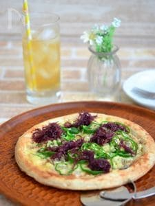 ふのりの健康和風ピザ