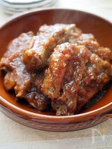 ほろほろスペアリブの焼肉のたれ煮