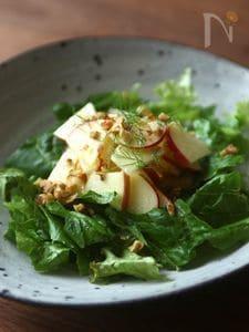 りんごとフェンネルのサラダ